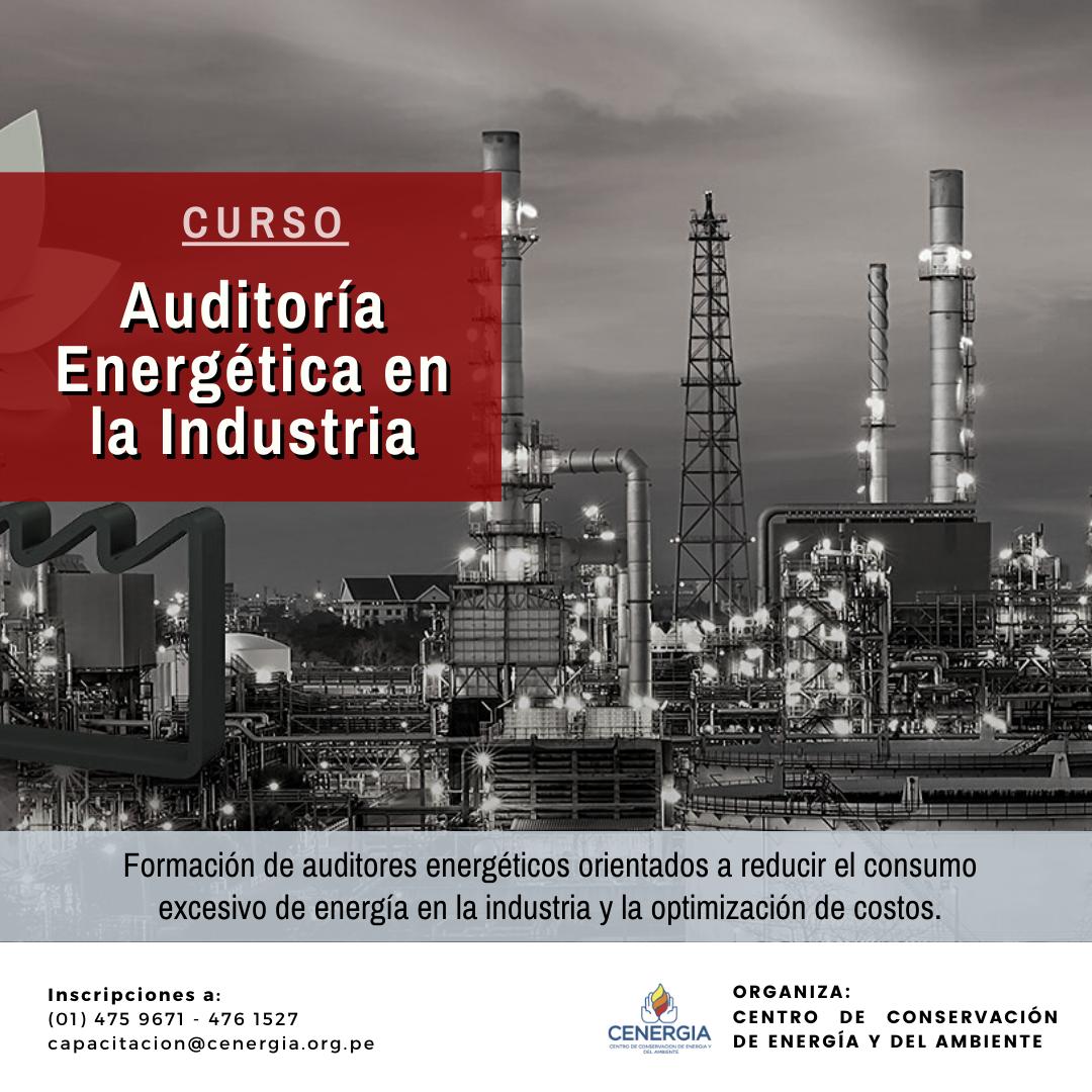 Course Image Auditoría Energética en la Industria