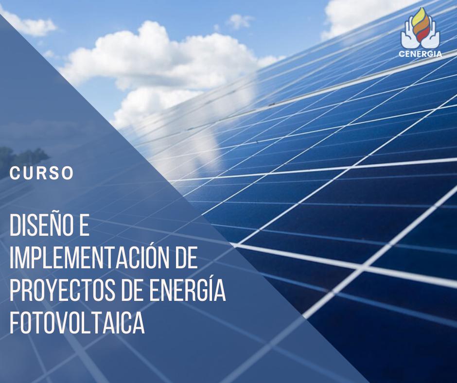 Course Image Diseño e Implementación de Proyectos de Energía Fotovoltaica
