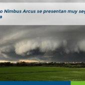 Nubes Cúmulo Nimbus Arcus Chiclayo Lima Perú