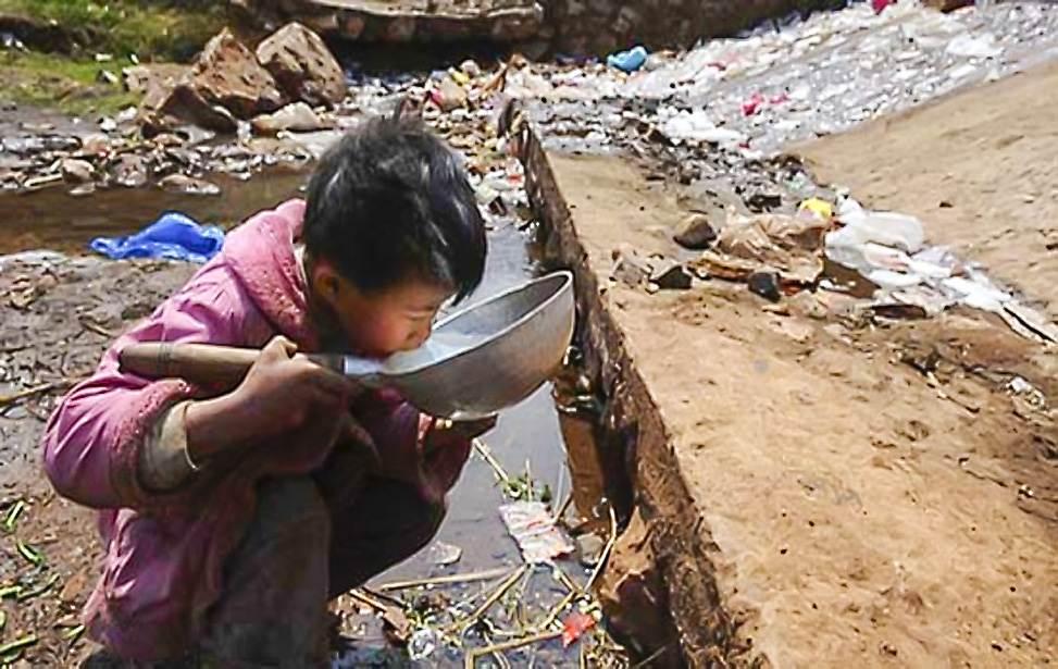 Crisis del agua de china: las energías renovables son la solución.