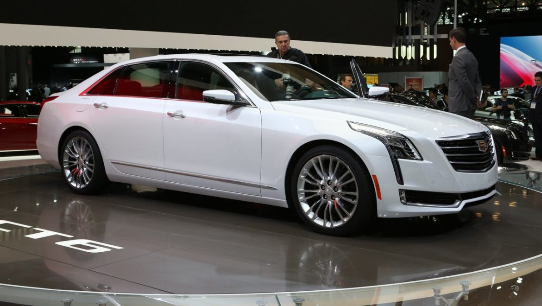 Cadillac híbrido en China