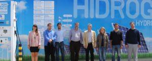 Corredor europeo para repostaje de vehículos de hidrógeno