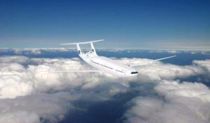 Avión de la NASA para pasajeros