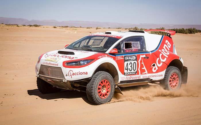 100% eléctrico para el Rally Dakar