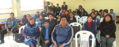 VI Conferencia en Instituciones Educativas: I.E. 7224 Elías Aguirre