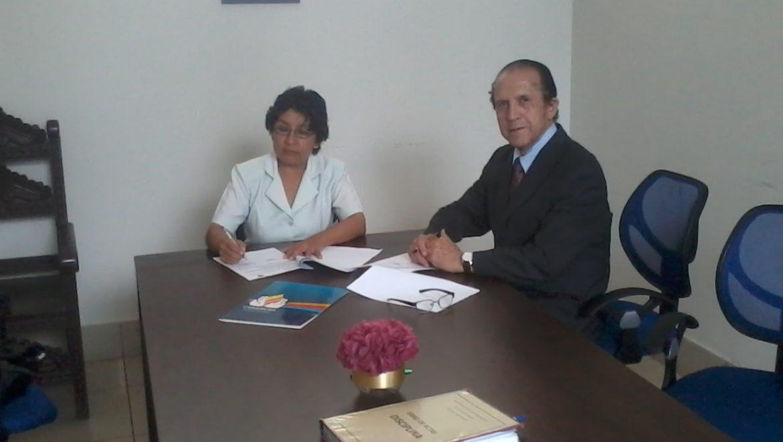 Firma de Convenio de Ecoeficiencia con la I.E.E Bartolomé Herrera