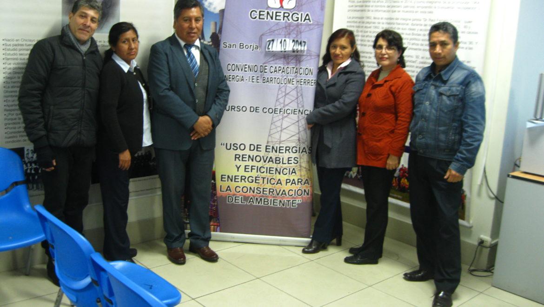 VI Sesión de Capacitación por Convenio de Ecoeficiencia: I.E.E. Bartolomé Herrera