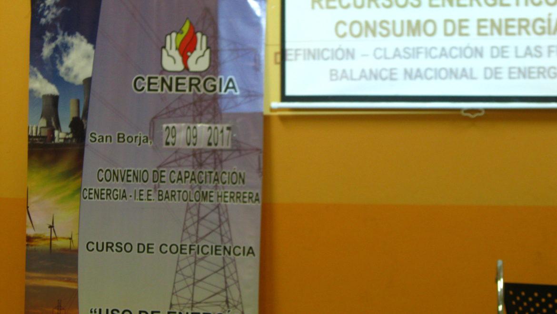 IV Sesión de Capacitación por Convenio de Ecoeficiencia: I.E.E. Bartolomé Herrera