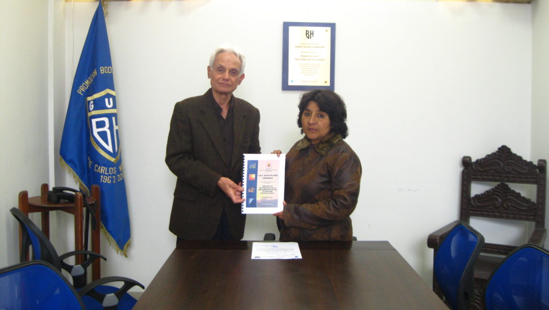 CENERGÍA entrega Informe de Estudio Fotovoltaico [Energía Solar] por Convenio de Capacitación en Ecoeficiencia
