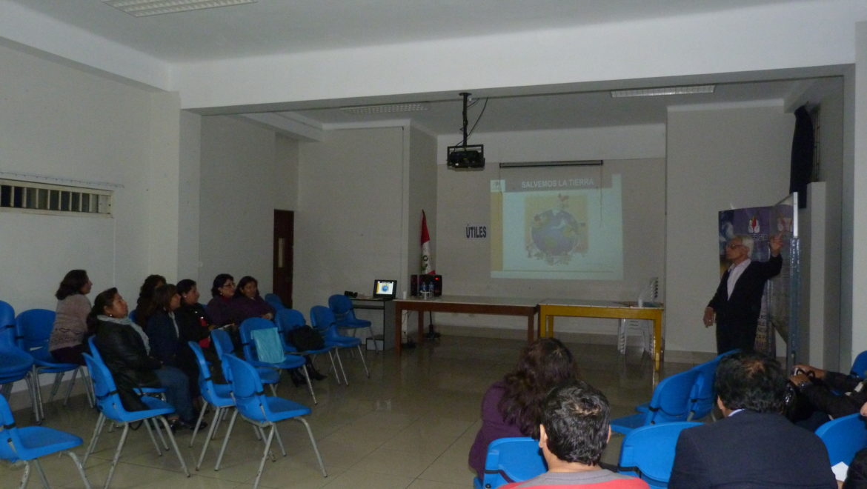 I Sesión de Capacitación por Convenio de Ecoeficiencia: I.E.E. Bartolomé Herrera