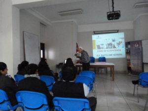 II Sesión de Capacitación por Convenio de Ecoeficiencia: I.E.E. Bartolomé Herrera