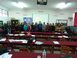 IX Capacitación Instituciones Educativas: I.E. 3002 Manuel Pardo
