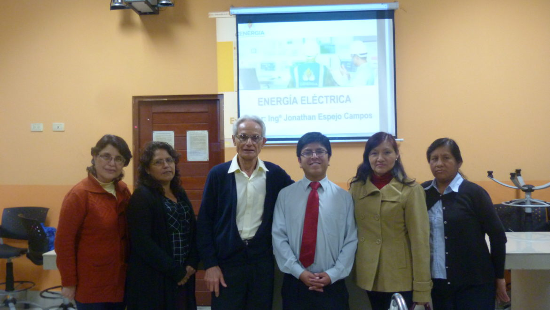 V Sesión de Capacitación por Convenio de Ecoeficiencia: I.E.E. Bartolomé Herrera