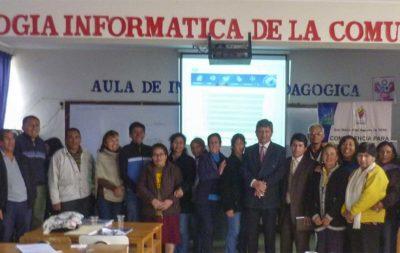 V Conferencia en Instituciones Educativas: I.E. 3055 Túpac Amaru