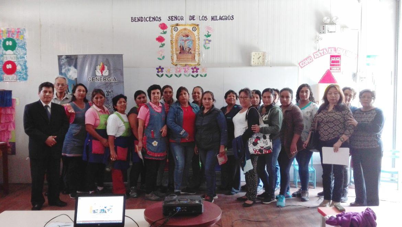 XII Capacitación Instituciones Educativas: IE 003 Nuestra Señora del Rosario