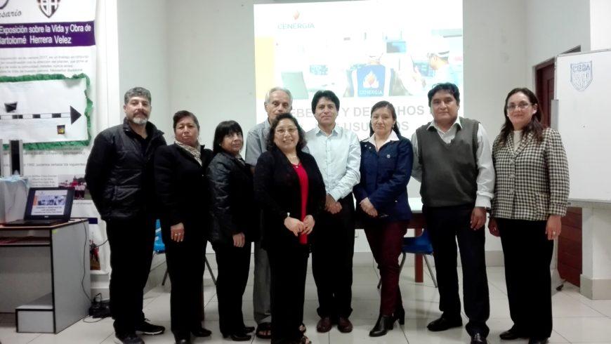 X Sesión de Capacitación por Convenio de Ecoeficiencia: I.E.E. Bartolomé Herrera