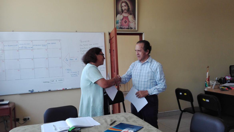 Firma de Convenio de Ecoeficiencia 2018: GUE Ricardo Palma