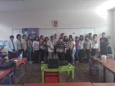 II Capacitación en Instituciones Educativas 2018: 1174 Virgen del Carmen
