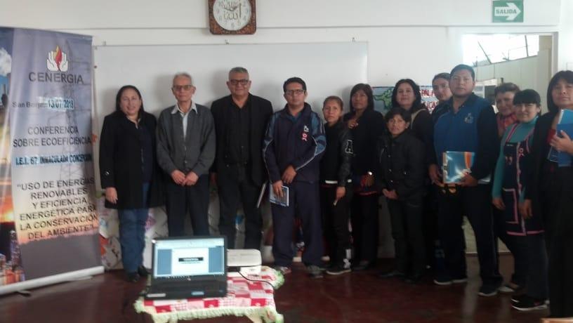 VII Capacitación 2018: IEI Nº 67 Inmaculada Concepción