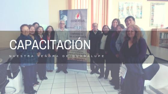 XI Capacitación a docentes de Nuestra Señora de Guadalupe