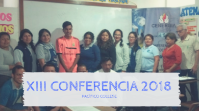 XIII Capacitación a docentes en IEP Pacífico College