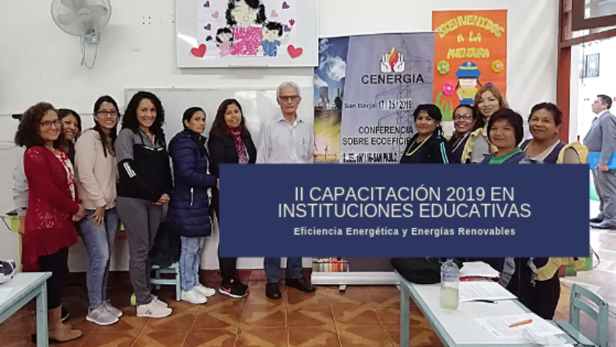 II Capacitación a docentes 2019: IEI 116 San Pablo