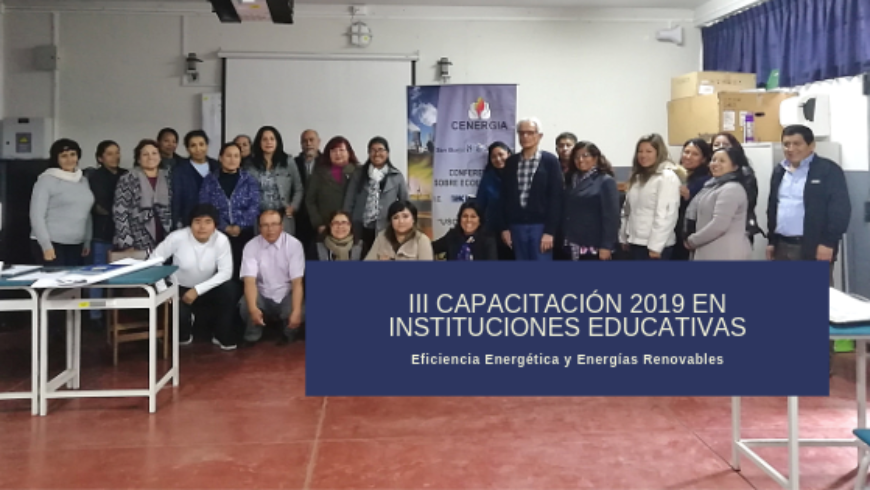 III Capacitación a docentes 2019: IE Túpac Amaru II