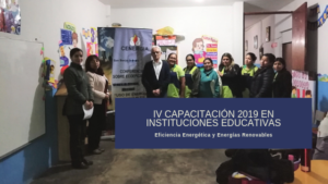 IV Capacitación a docentes 2019: IE Hogar del Niño Jesús