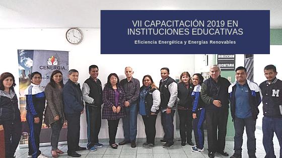 VII Capacitación a docentes 2019: Jesús es mi Luz
