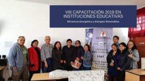 VIII Capacitación a docentes 2019: 1161