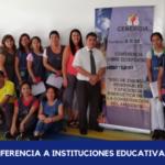 I Capacitación a docentes 2020: I.E Nido Tejitas